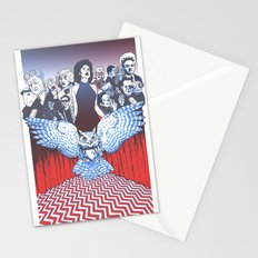BLACK LODGE BURLESQUE Stationery Cards