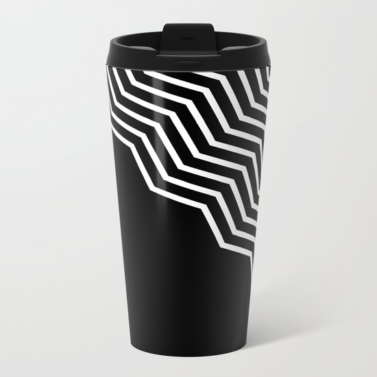DRAMA QUEEN Metal Travel Mug