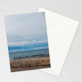 Lake Michigan in November Stationery Cards