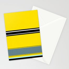 Gold pattern ( or a flat minion?) Stationery Cards