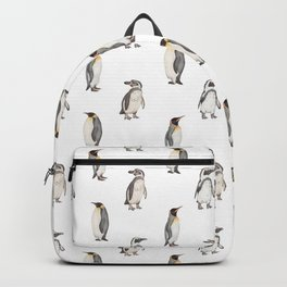 Penguin pattern Backpack