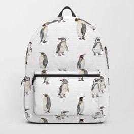 Penguin pattern Backpack