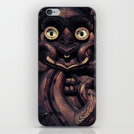 NEW ZEALAND CARVING iPhone Skin