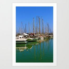 Port Ginesta Art Print