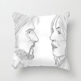 Captain Swan Throw Pillow