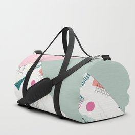 Abstract combined pattern. Duffle Bag