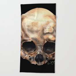 Alas, Poor Yorick! Beach Towel