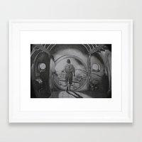 the hobbit Framed Art Prints featuring The Hobbit by Matthew Felton