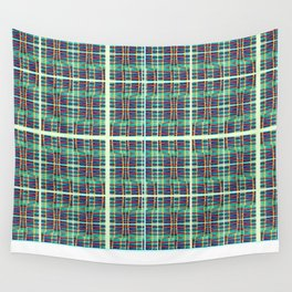 plaidish Wall Tapestry