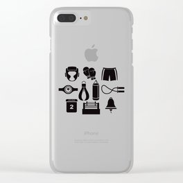All The Things You Need To Become A Great Boxer Clear iPhone Case