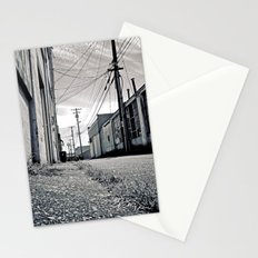 Old urban alley Stationery Cards