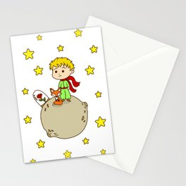 Prince From Alone Planet Stationery Cards