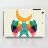child iPad Cases featuring Moon Child by Andy Westface