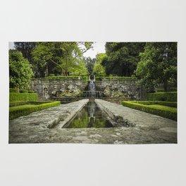 The villa Lante garden's Rug
