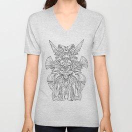 Kaiju Emblem Unisex V-Neck