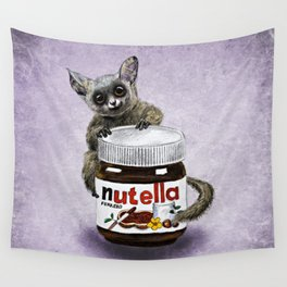 Sweet aim // galago and nutella Wall Tapestry