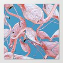 Flamingo Pattern by mariaumievskaya