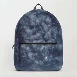 Blue veiled moon II Backpack
