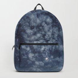Blue veiled moon II Backpack
