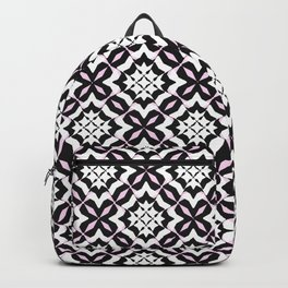 Three-Color Mosaic Backpack
