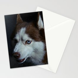 Snow in Siberia Stationery Cards