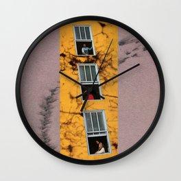 Neighbours Wall Clock