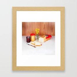 PB & J  Framed Art Print