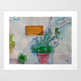 Salobrena Art Print