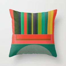 Stripe Transmission Throw Pillow