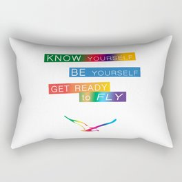 Get ready to fly Rectangular Pillow