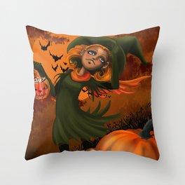 Halloween fun Throw Pillow