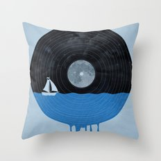 Songs for the Sea Throw Pillow
