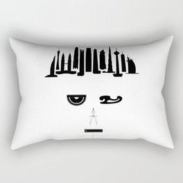 the world inside your head | Architect Rectangular Pillow