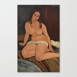 """Amedeo Modigliani """"Seated nude"""" Canvas Print"""