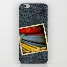 Grunge sticker of Armenia flag iPhone & iPod Skin