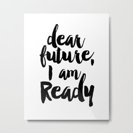 Inspirational Quote Nursery Quote Kids Room Decor Print Printable Quote Print Typography Print Quote Metal Print