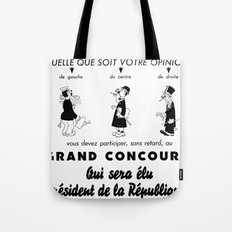 French Political Poster 1953 Tote Bag