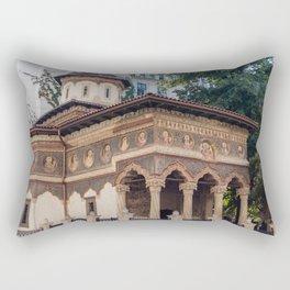 Roumania, Stavropoleos Church, Bucaret Rectangular Pillow