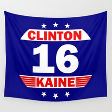 Clinton Kaine 16 Wall Tapestry