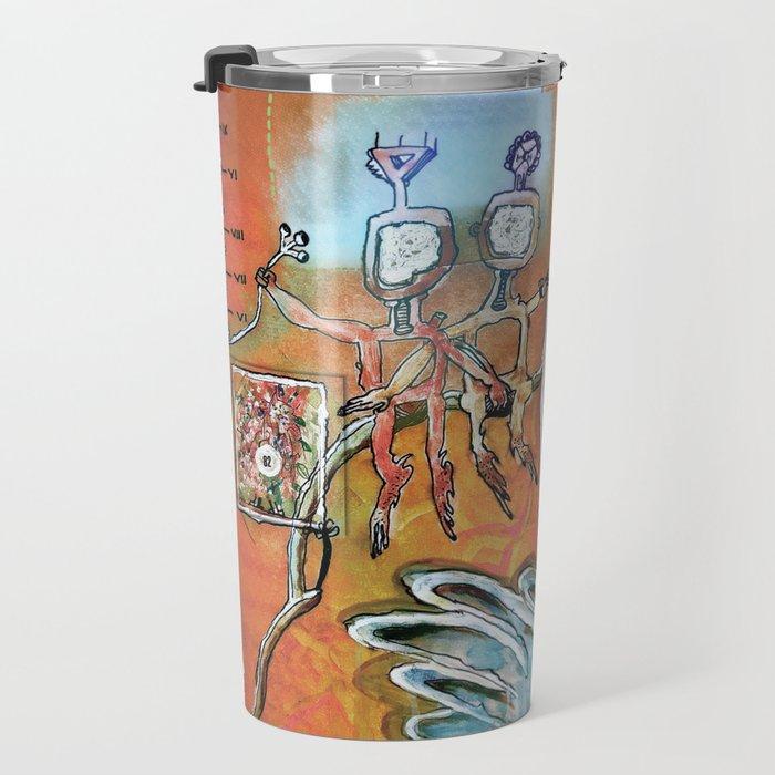 Abstract 82-89 Travel Mug