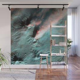 Klyuchevskaya Sopka Volcano Eruption Wall Mural
