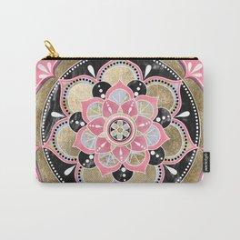 Elegant girly tribal mandala design Carry-All Pouch