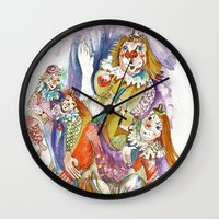 feet Wall Clocks featuring RB Feet by CrismanArt