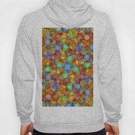 Bubbly Colours Pattern Hoody