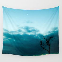 Dark Tree Wall Tapestry