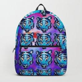 Galaxy Tiger Print Backpack