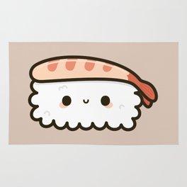 Cute prawn sushi Rug
