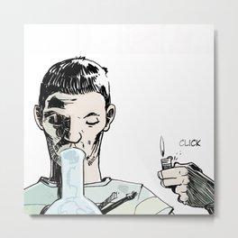 DSA - CLICK Metal Print