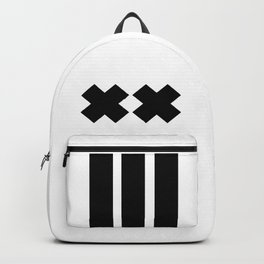 Ex and Stripes Backpack