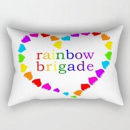 Rainbow Brigade_Hearts Rectangular Pillow